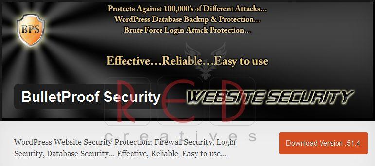 melingdungi website wordpress
