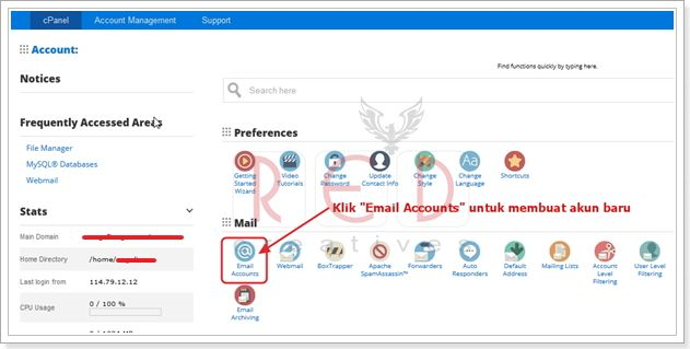 tutorial mengganti password webmail, cara ganti password email, cara ganti password webmail