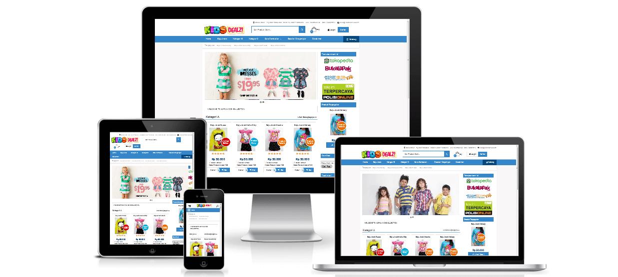 jasa pembuatan toko online murah, toko online bogor, toko online terpercaya