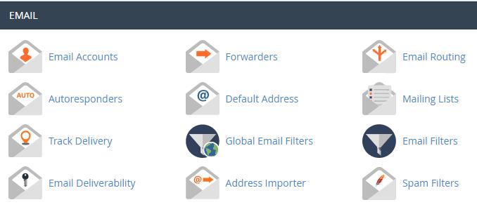 gambar email di cpanel