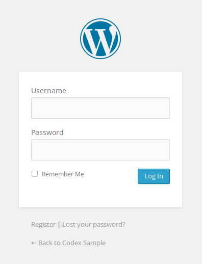 tutorial mengganti logo default wordpress