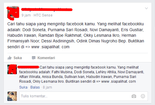 cara mengatasi spam boot htc di facebook