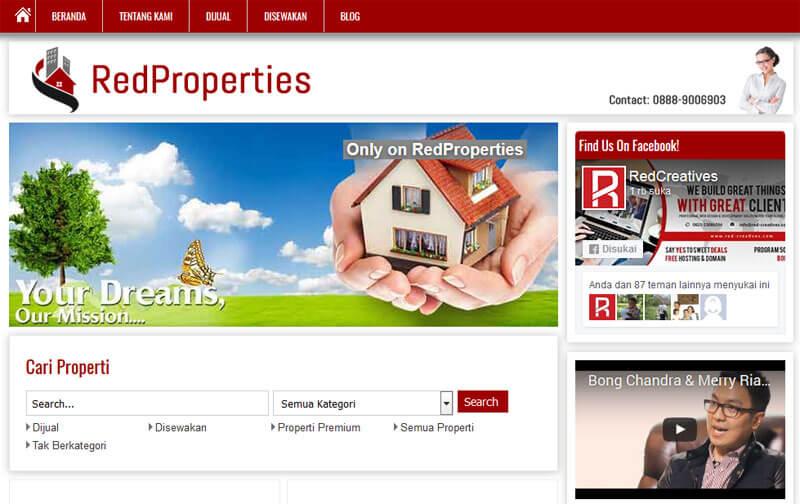 website listing properti