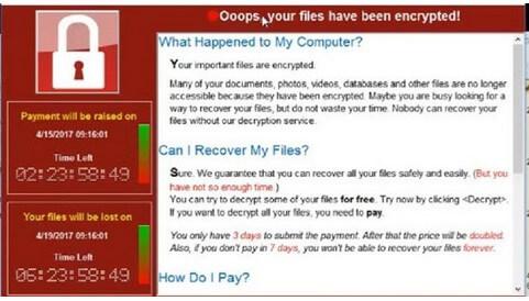mengatasi ransomware wannacry