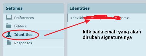identitas email