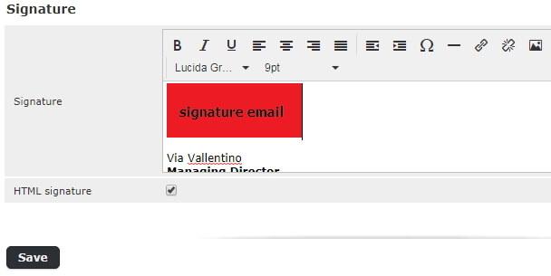 signature email perusahaan