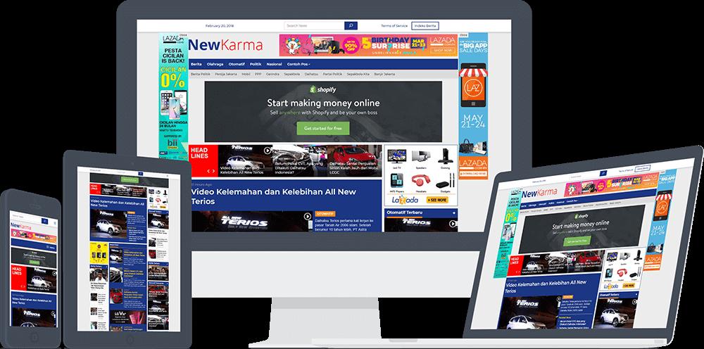 newkarma tema web portal berita wordpress