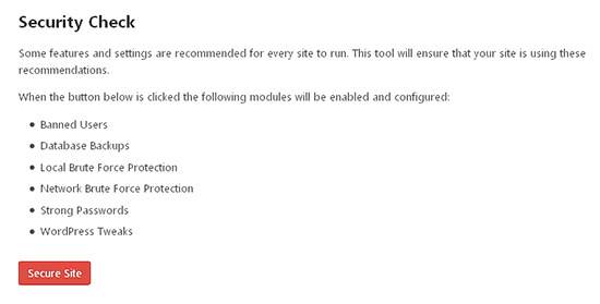 fitur keamanan website wordpress