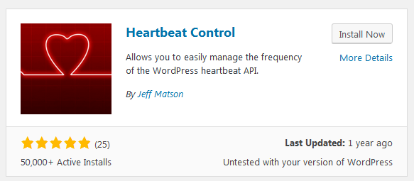 Heartbeat Control Plugin