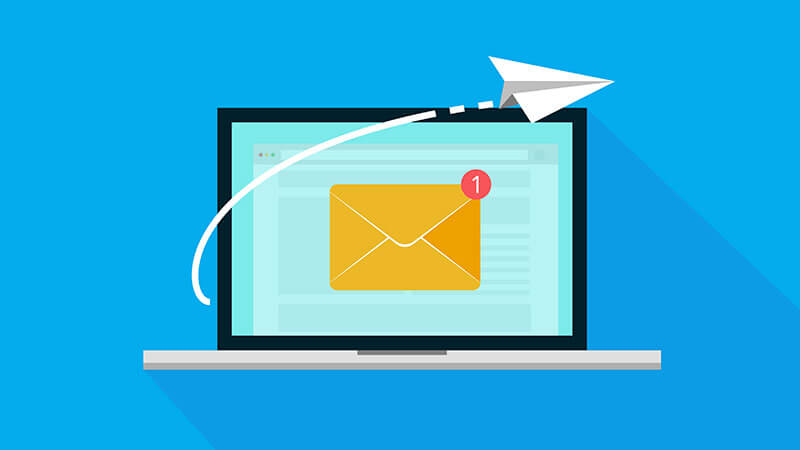 limite pengiriman email