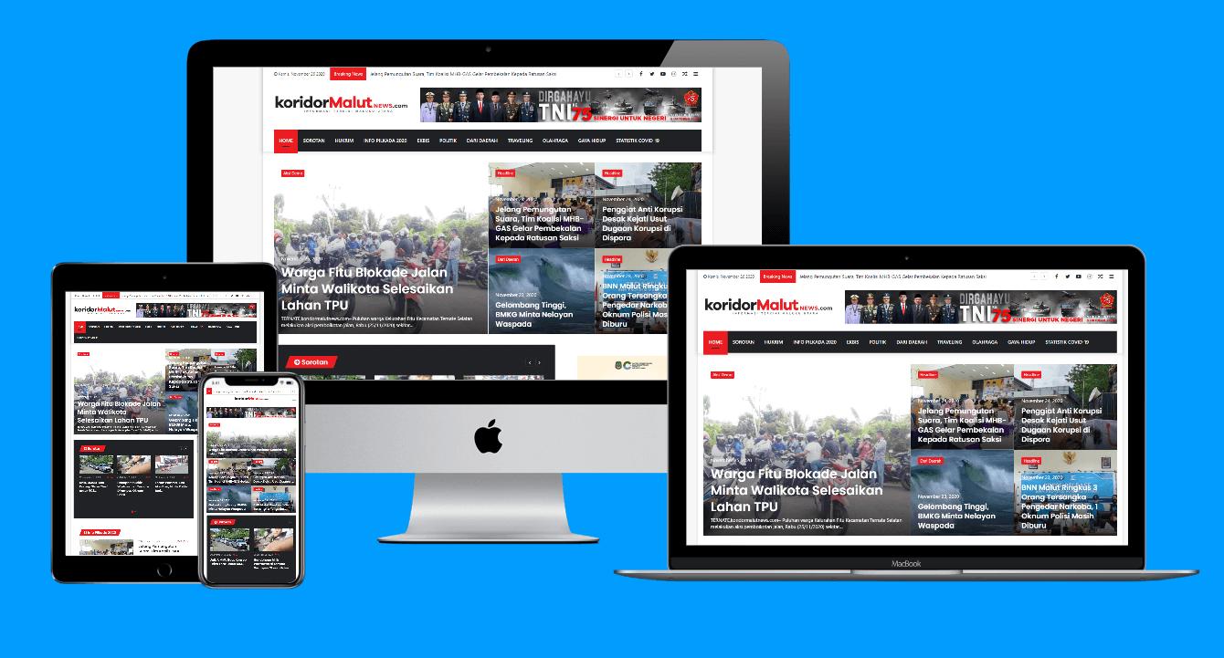 jasa pembuatan website portal berita murah