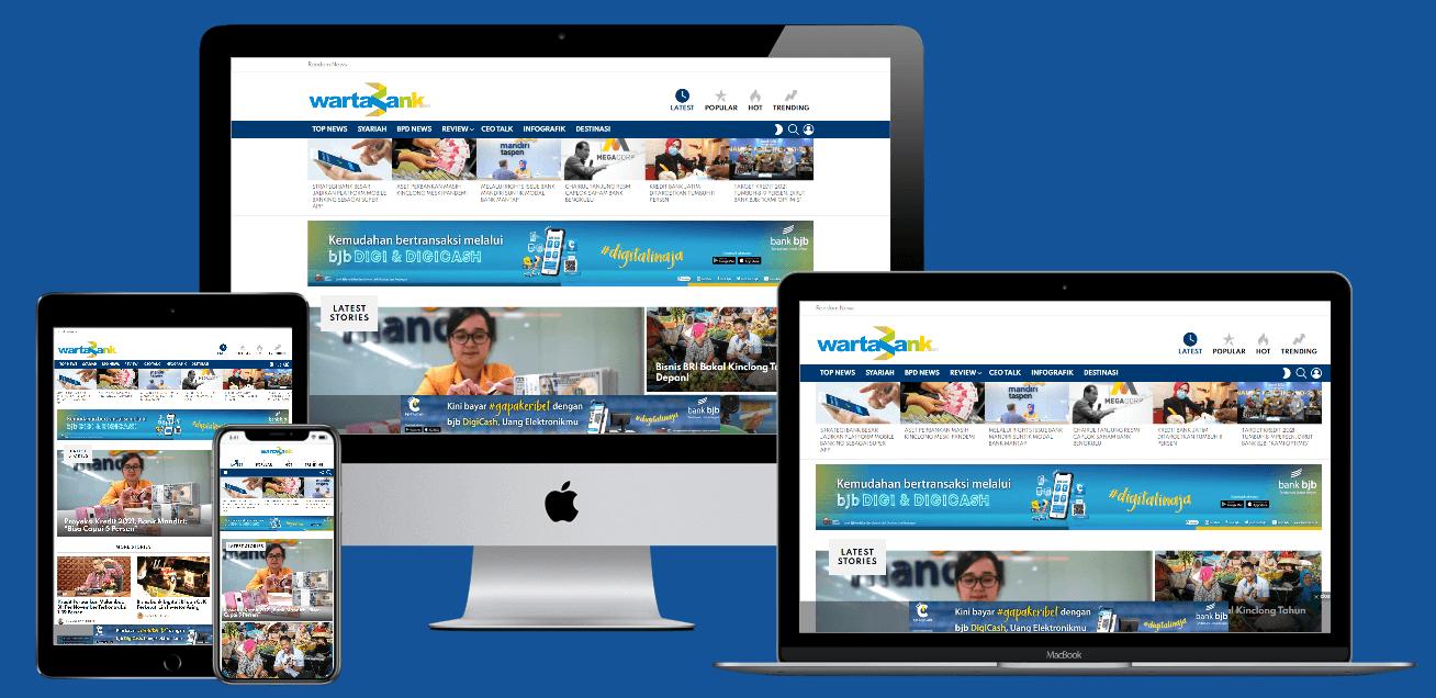 Jasa Pembuatan Website Berita Bank