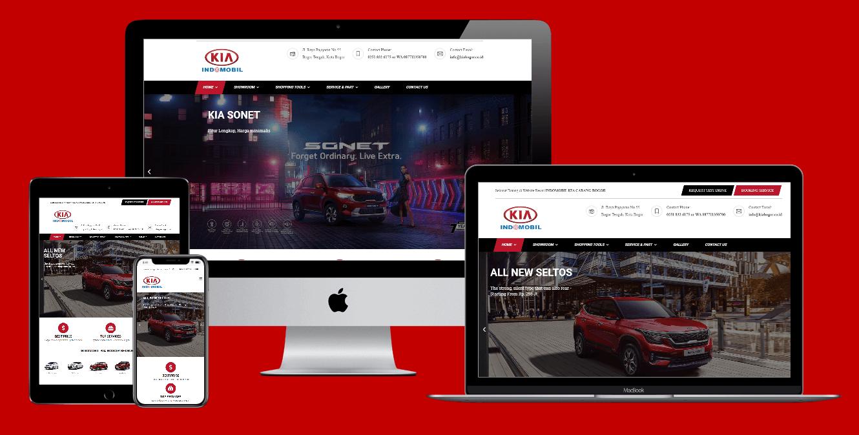 jasa pembuatan website dealer mobil