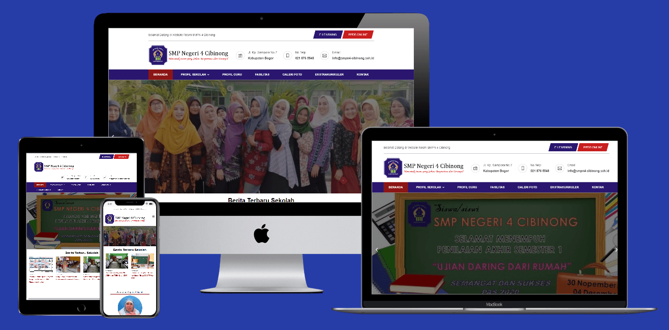 Jasa Pembuatan Website Sekolah Bogor Jakarta