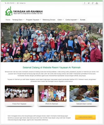 yayasan arrahmah preview
